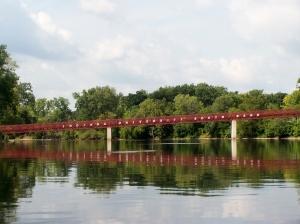 IUSB footbridge