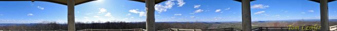 360 Degree Panorama from Lookout Tower