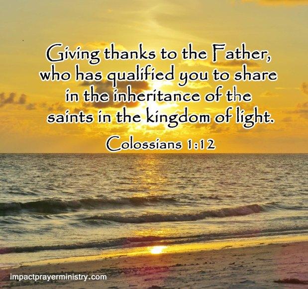 Giving Thanks — November4