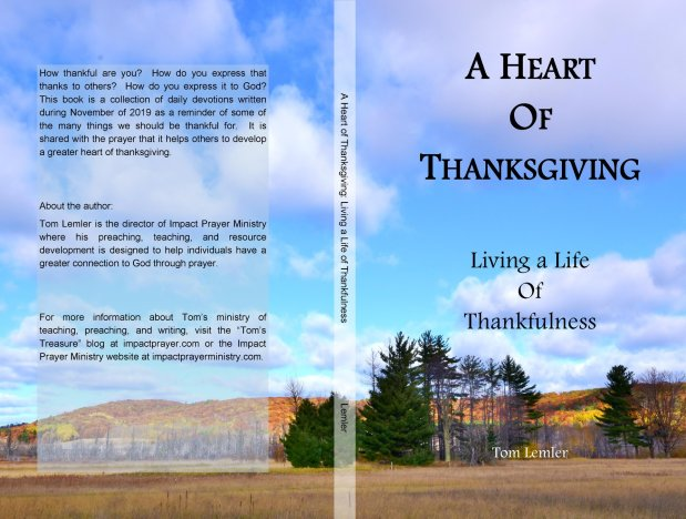 A Heart of Thanksgiving:  Thankful For God's Family