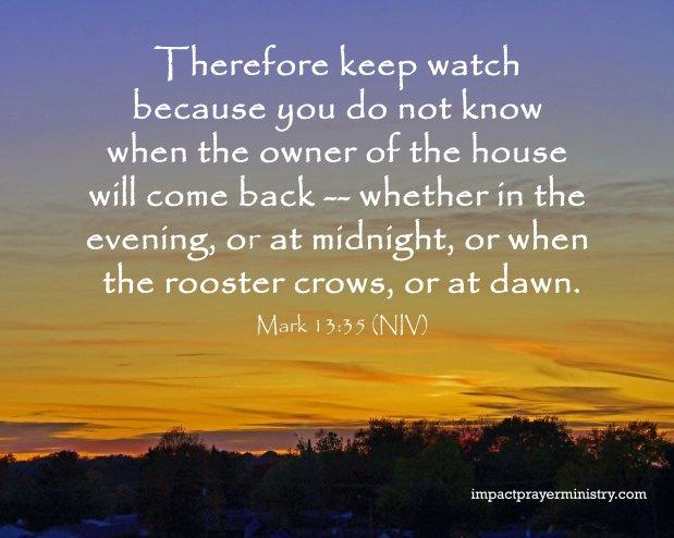 Watch and PRAY (SermonAudio)