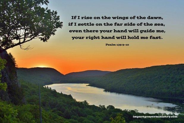Encouragement and Prayer:  Ever-Present from Horizon to Horizon!(10/06/21)